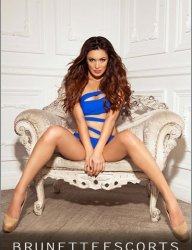High Class Brunette London Escort!