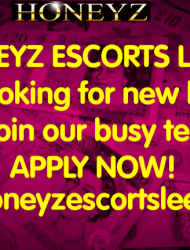 HONEYZ ESCORTS LEEDS ARE RECRUITING NOW!