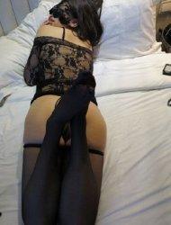 Like naughty undies and suspenders